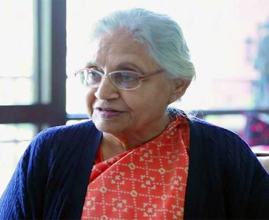 Sheila Dikshit interview by Ravindra Gautam