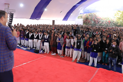 Ravindra Gautam in Banasthali University Jaipur